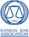 Logo Recognizing Foster Wallace, LLC's affiliation with the Kansas Bar Association
